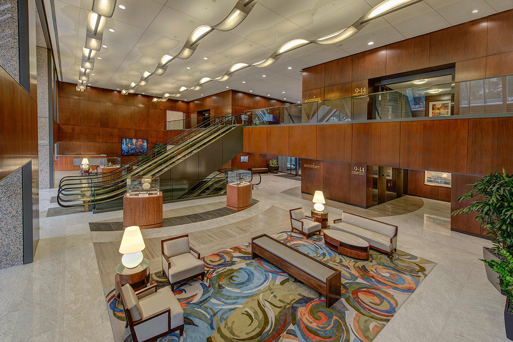 The Towers at Williams Square</br><em>Irving, Texas</em>|corporate interiors