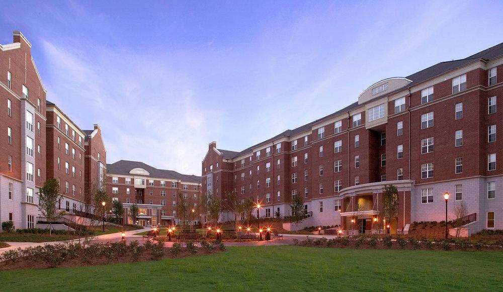 University of Georgia East Campus Village</br><em>Athens, Georgia</em>|residencehalls