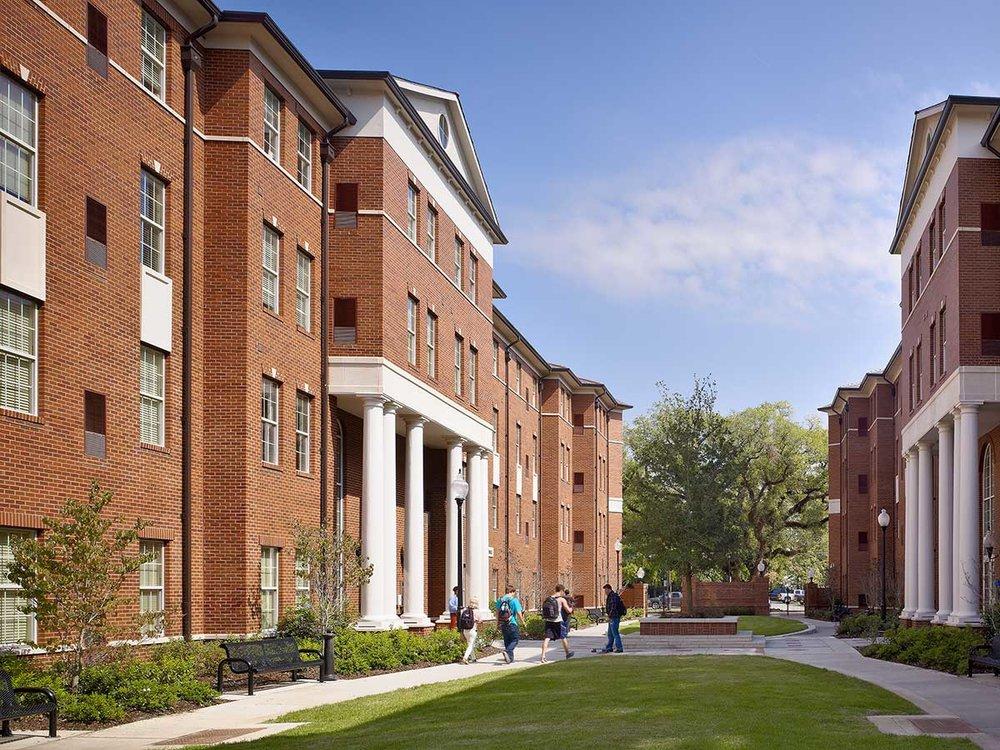 University of Louisiana Lafayette</br><em>Louisiana, Lafayette</em>|residencehalls