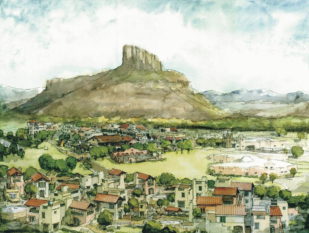 Village at Gateway Canyons</br><em>Mesa County, Colorado</em>|planning hospitality