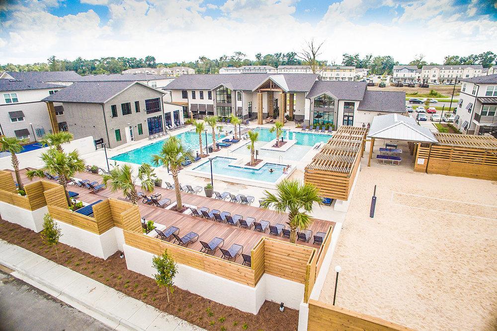 Wildwood Baton Rouge </br><em>Baton Rouge, Louisiana</em>| offcampusstudenthousing recreation landscapearchitecture