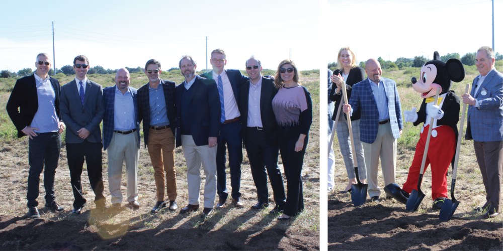 Left Image: Brian Ward, James Stephenson, Bill Bayless (ACC CEO), Taylor Yarbrough, Chris Fortner, Ian Hoffman, Michael Kolodzy, and Gretchen Lotz.