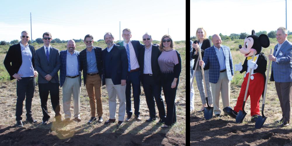 Left Image: Brian Ward, James Stephenson, Bill Bayless (ACC CEO), Taylor Yarbrough, Chris Fortner, Ian Hoffman, Michael Kolodzy, and Gretchen Lotz.