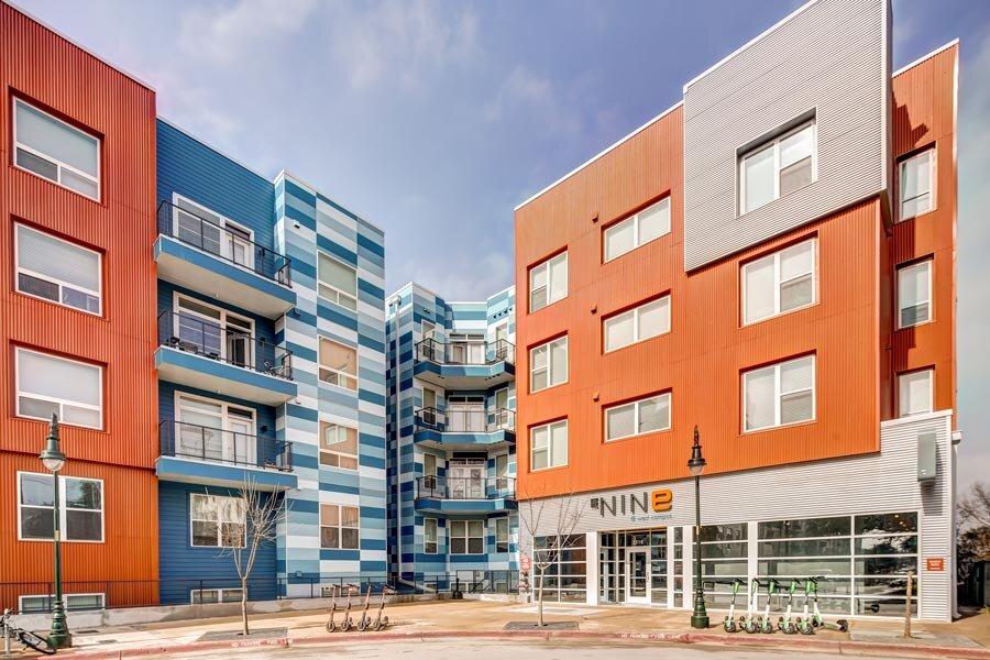 The Nine at West Campus</br><em>Austin, Texas</em>|offcampusstudenthousing architecture