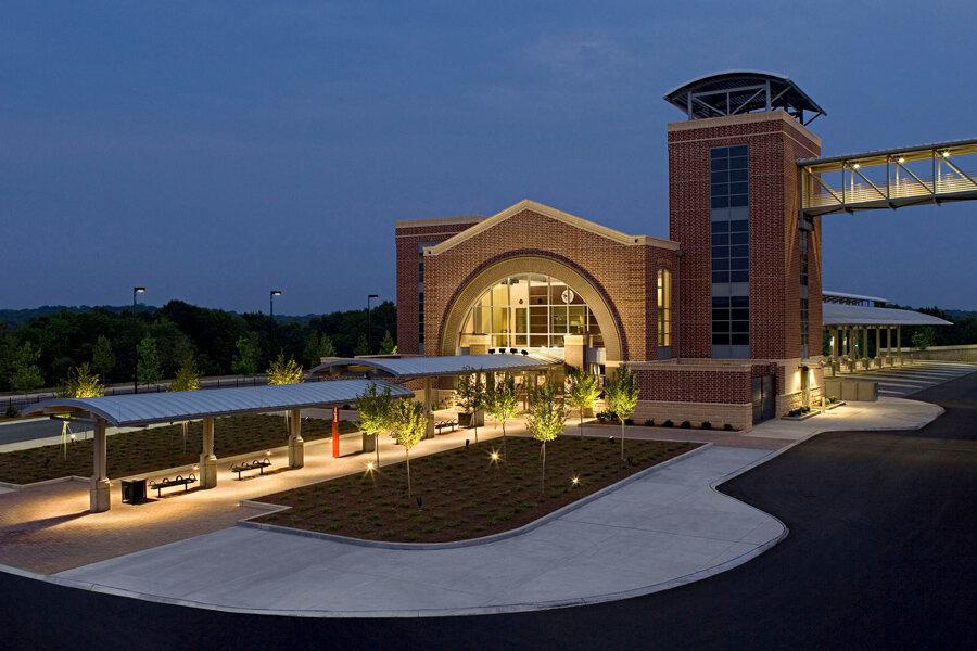 Athens Multi-Modal Transportation Center</br><em>Athens, Georgia</em>|transportation architecture