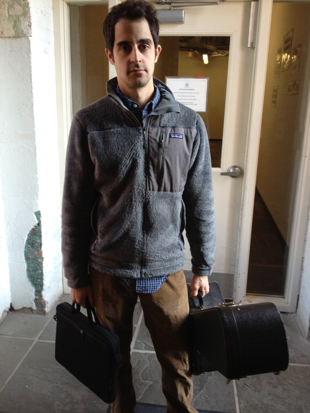 Augusta 2012: Hey guys, I brought my music stuff! Oh wait, shit - I have to go be a law clerk?
