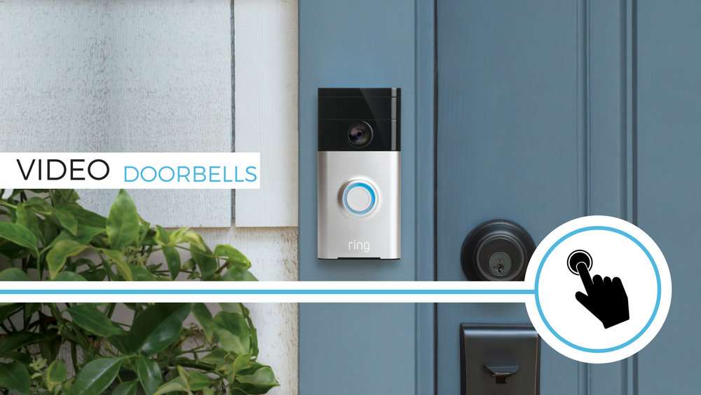 Control, convenience and safety you've never had before. Whether you're home or away, feel confident knowing you can see who's at your door!
