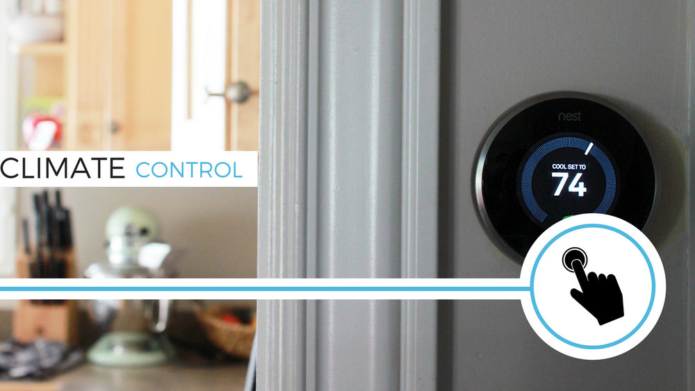 A smart thermostat can learn your habits, temperature preferences and is even aware of occupants in and out of the home.Smart t-stats are so efficient, you will forget that they are even there; the device will automatically raise the temperature when you get out of bed, lower it for bedtime, and even automatically adjust for different seasons. Mobile connectivity allows for control when you're away from home for long periods and you can also track your energy efficiency on through apps to see how much money you're saving.
