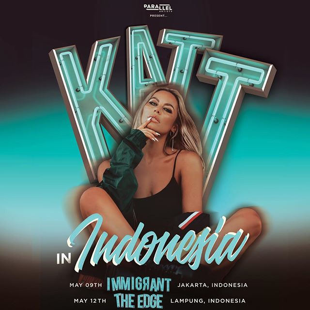 INDONESIA ARE YOU READY? 🇮🇩📢 @kattniallofficial is inbound next week! ✈️🔥