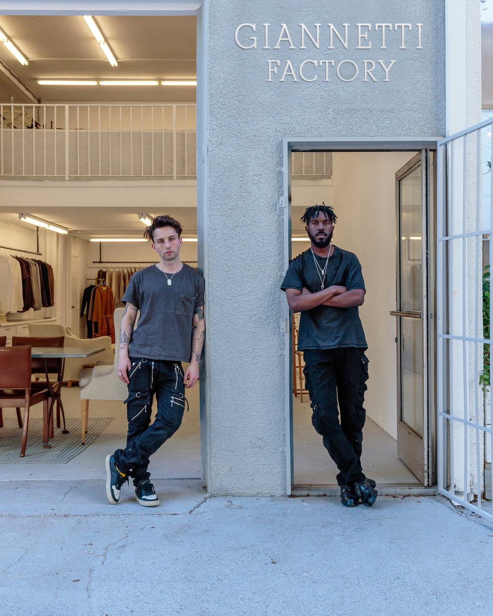 BACKTAB LOS ANGELES - Together, Garrett Wilson and Charlie Giannetti operate Backtab LA which functions as the design and consulting group at Giannetti Factory.