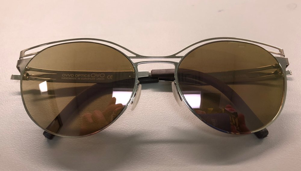 OVVO Frame with Transitions XtrActive brown lenses