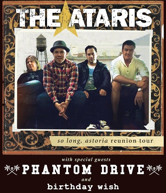 Surprise! We are opening for The Ataris next Wednesday, Nov. 7th. Ages 18+ only @grampswynwood ... Doors @ 7pm. $15 in advance at www.foryourfriends.net