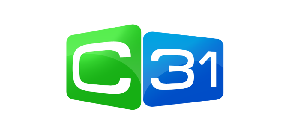 Channel 31 Melbourne and Geelong's logo.