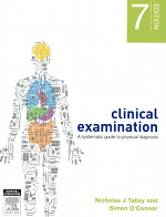 Clinical Examination Talley & O'Connor - This textbook is the basis of the entire clinical skills component of the course so it's pretty much a must have.The clinical skills lecturers recomend that you should refer to this book often, and in your upper years you'll likely do just that.