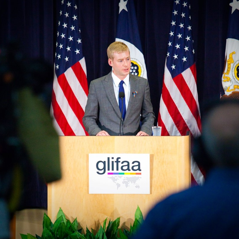 - I have also been a long-time advocate for the rights of LGBT people, both here at home and abroad. I served as president of GLIFAA (the LGBT employee association of U.S.foreign affairs agencies) from 2010 to 2011, where I helped plan landmark outreach to and increased protection of LGBT people worldwide during a time of significant political change. I later served as Midwest Chair for Victory Fund, a national political organization devoted to electing LGBT people to office. When elected, I will be the first openly LGBT person elected to statewide office in Minnesota.