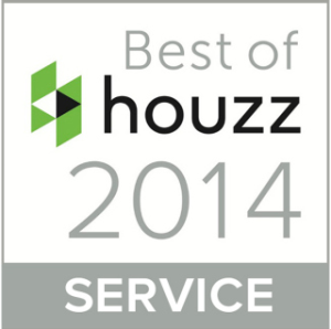 Houzz best of service award - Since 2014