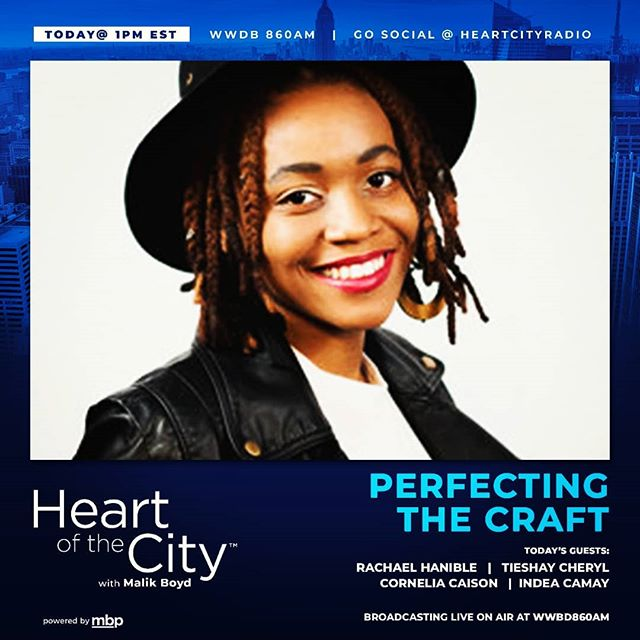 Today!!!!! I'll be on @heartcityradio with @malik_l_boyd. Be sure to tune  in! It will be on 860 am radio and also live on Facebook. Follow @heartcityradio. Also a special treat, @peptalks_.  and I on the same show is destined to be an amazing listening experience. Tune in. #tieshaycheryl #Unsungblackbird #may23 #gemini  #heartofthecity