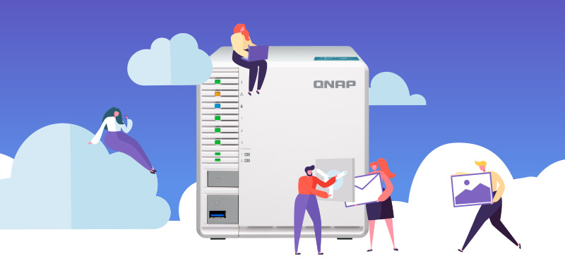 QNAP 3 Bay NAS Designed for RAID 5 — YMtech IT Consulting