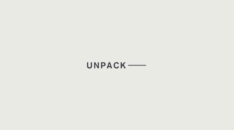 Unpack Hua Chen Spring 2018