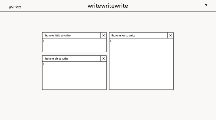Write Write Write Lulu Johnson Spring 2018