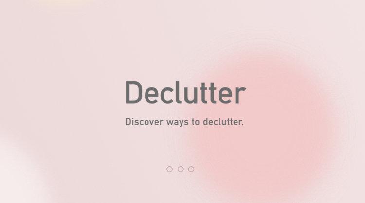 Declutter Hannah Kruh-Vort Spring 2018