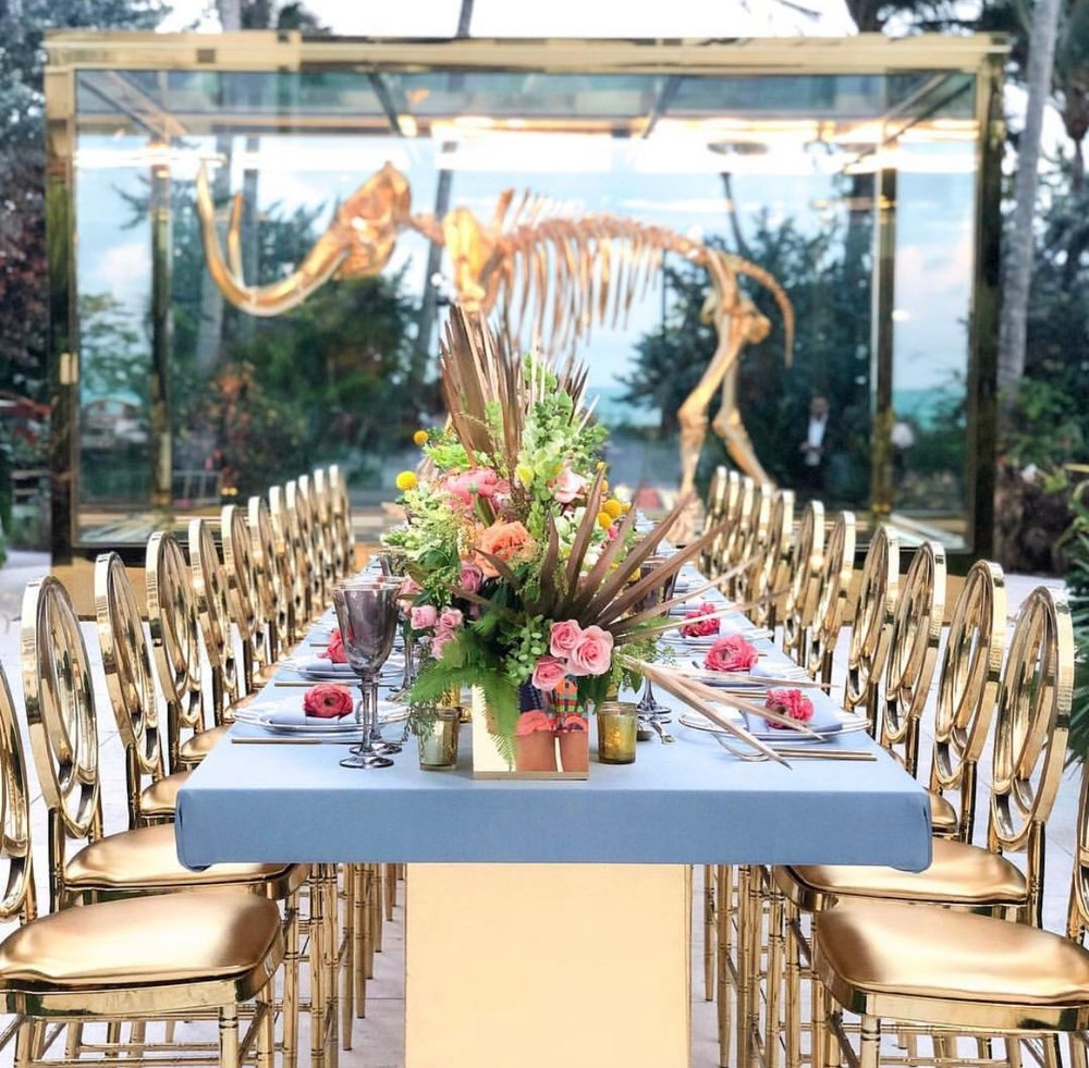 Welcome Dinner by  The Knot  at  Faena  / Photo by  Esther Lee