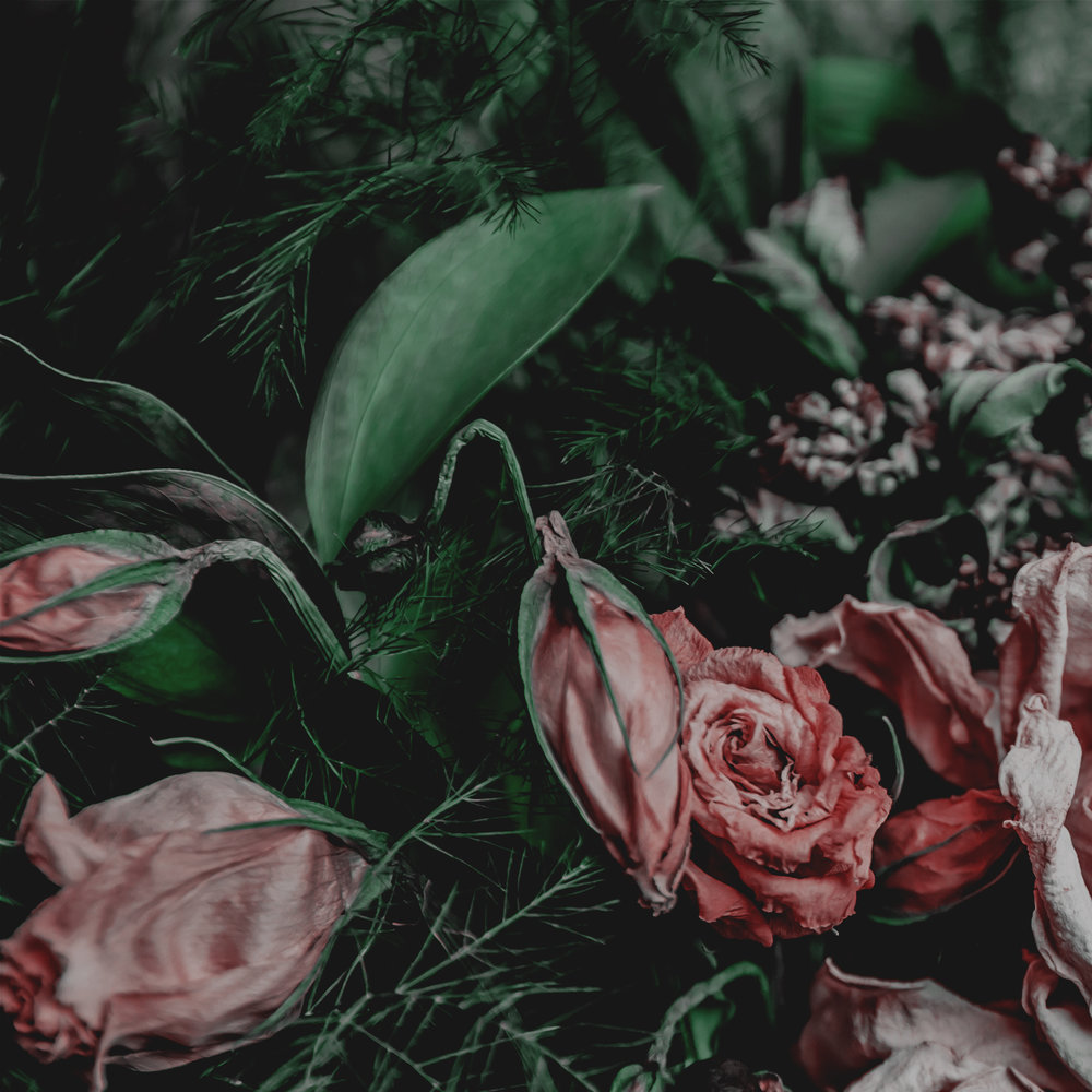 Green Red Moody Florals by KAESPO 001.jpg