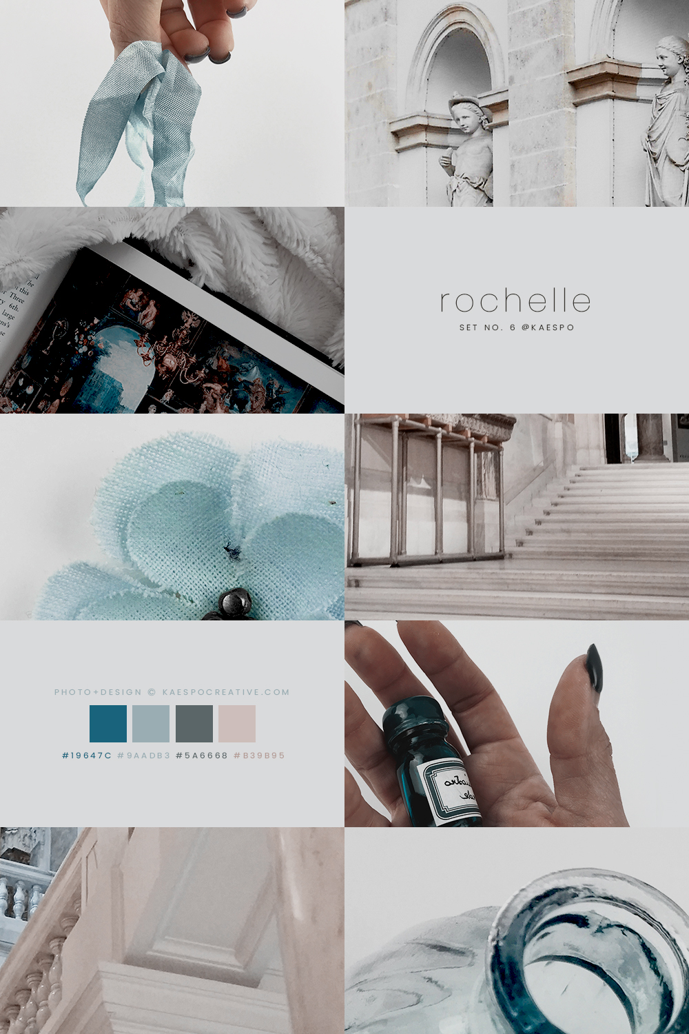 Teal Aesthetics & Photography by KAESPO Design + Branding