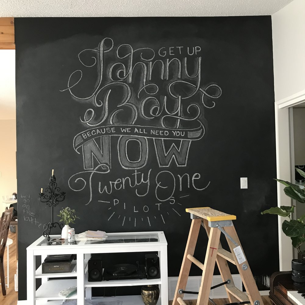Chalkboard Wall Art | Kaespo Design