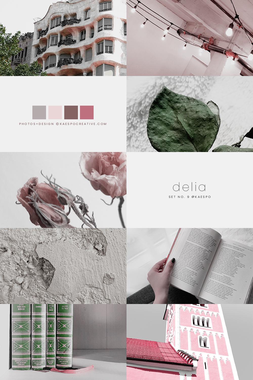 No 009 Delia - Pink & Green.jpg