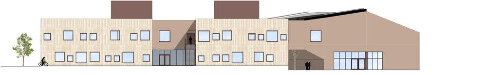 Planforum Arkitekter_ Hebekkskole_Facade School South.jpg