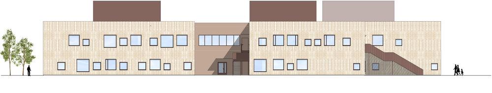 Planforum Arkitekter_ Hebekkskole_Facade School West.jpg