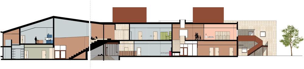 Planforum Arkitekter_ Hebekkskole_Section School.jpg