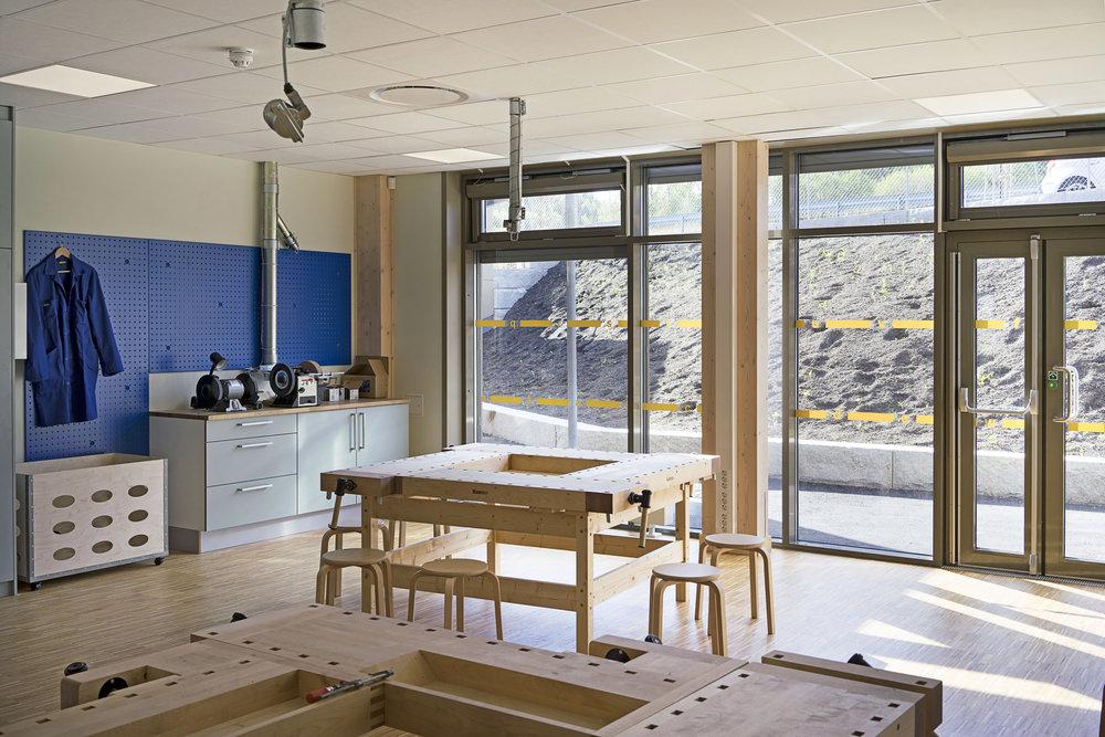 Planforum Arkitekter_Ytre Enebakk skole_Foto Eli Haugen Sandnes_Sløyd 03.jpg
