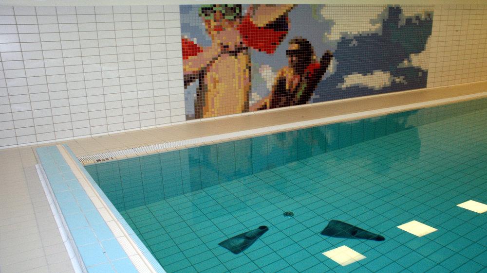 Svømmebasseng ved Hauketo ungdomsskole