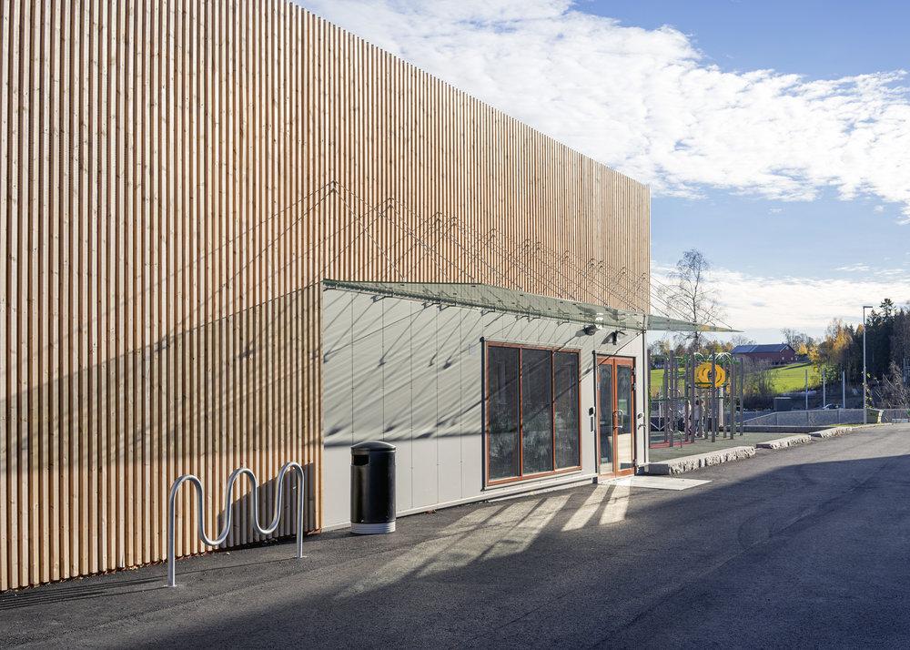 Idrettshall ved Hebekk skole