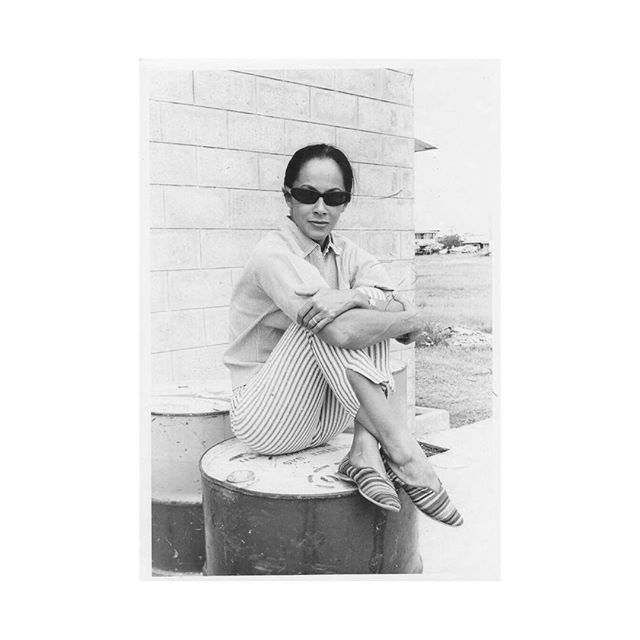 The one and Only / June Rose / Philippines 1962 / ❤️ . . #happybirthdaygranny #superstar #teacher #dolcevita #goddess www.studiojunebellamy.it