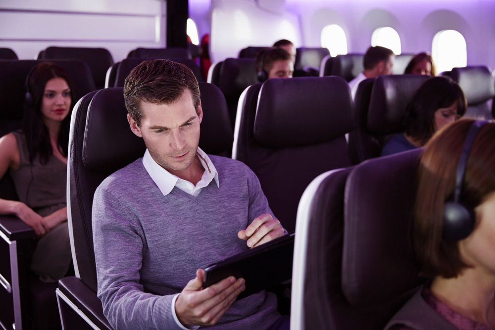Get online with Virgin Atlantic.