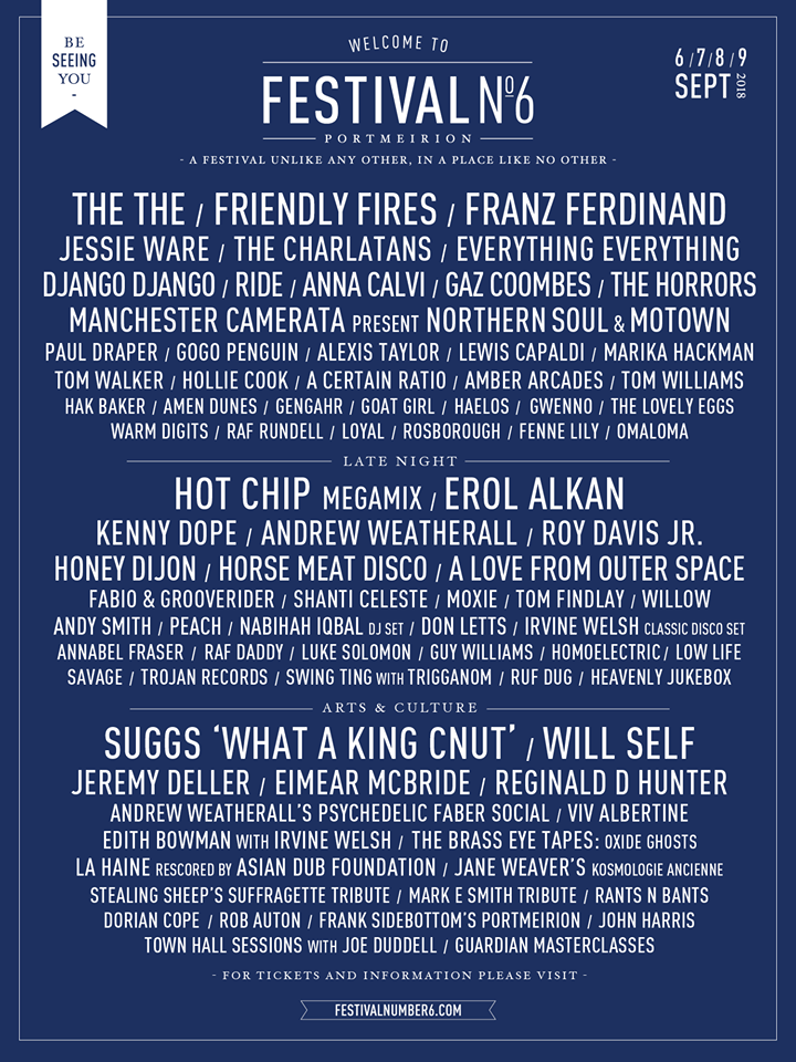 festival number 6 2018 lineup poster.png