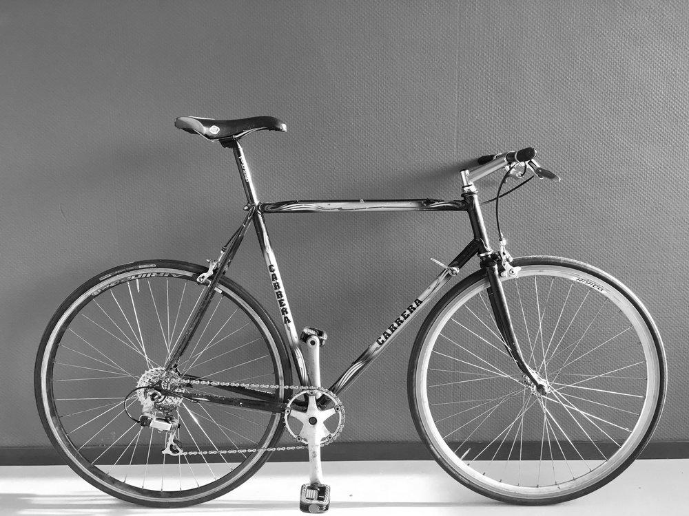 carrera messenger - Multi colorSteelSize 57,[riders > 175cm}7 speedsold