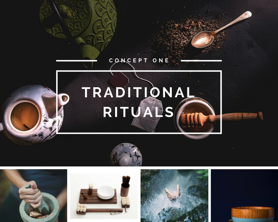 Japanese beauty concepts - analog traditional rituals