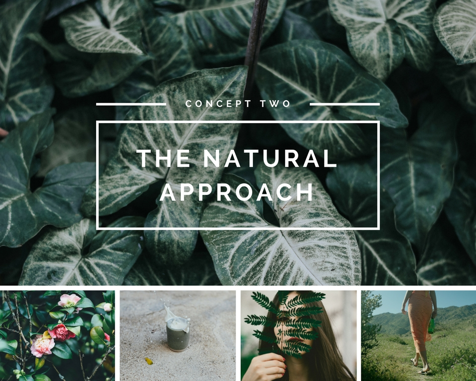 Japanese beauty concepts - the natural approach . the nature connection + use of botanical ingredients and inspirations.