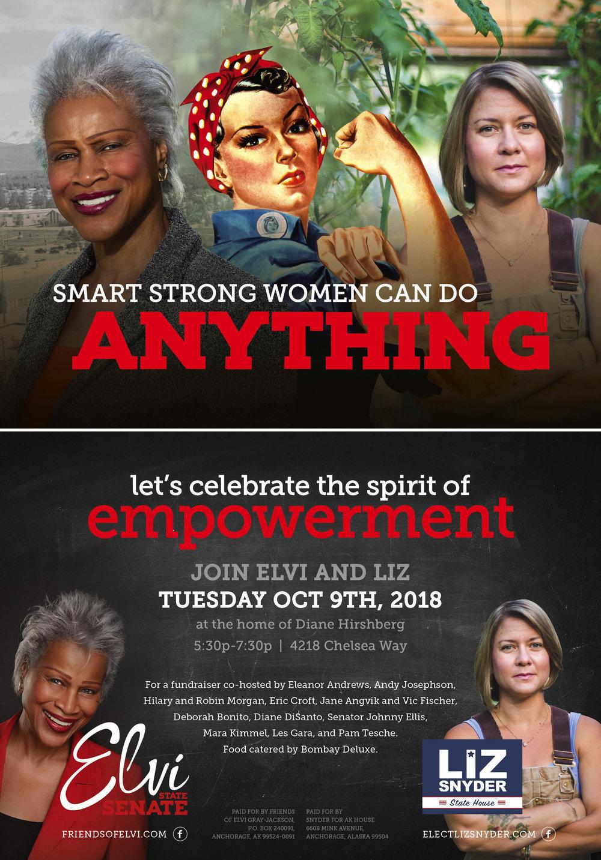 Empowerment Fundraiser Invite