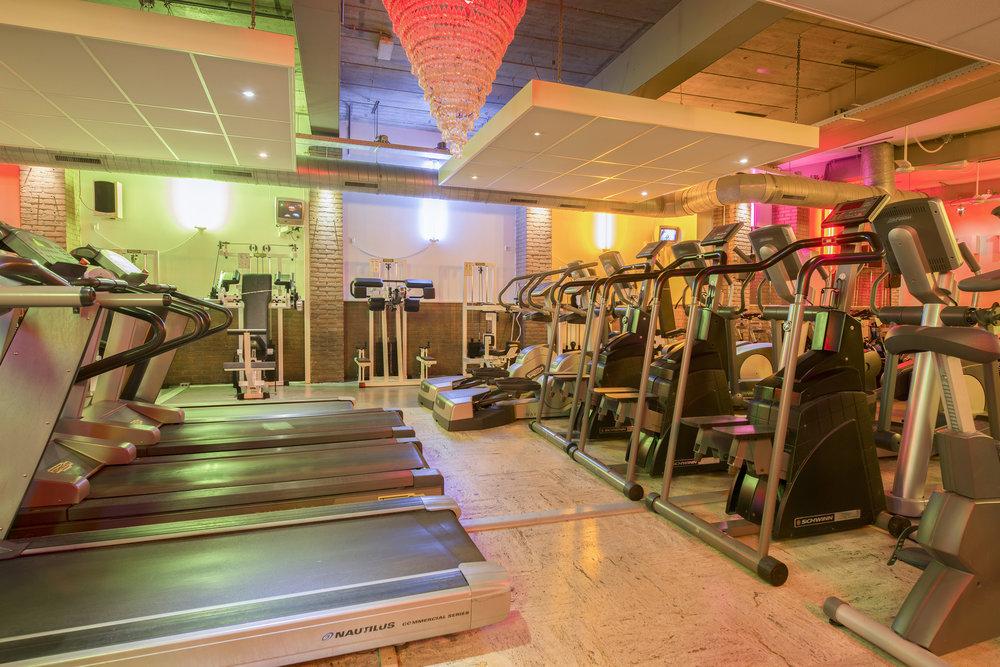 cardio - fitnesszaal   begane grond