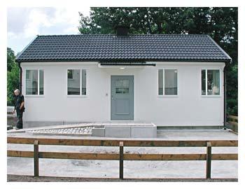 Farsta - Byggnadsår 2006Består av tre fintvätt-och en grovtvättstugaBeställare: Stockholmshem