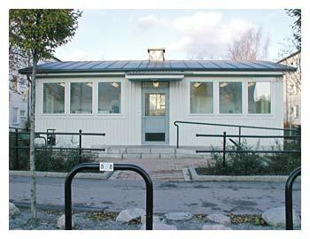 Tensta - Byggnadsår 2005Består av tre fintvättstugor och en grovtvättstugaBeställare: Familjebostäder i Stockholm