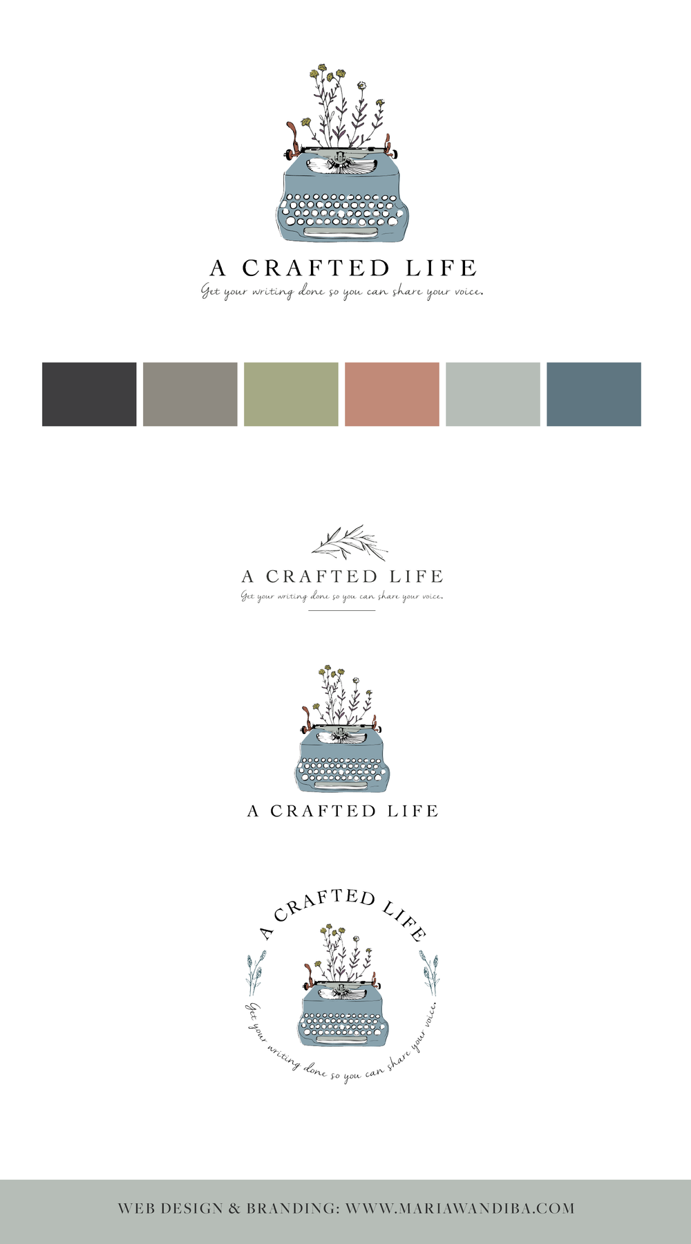 A crafted life Branding by Maria Wandiba