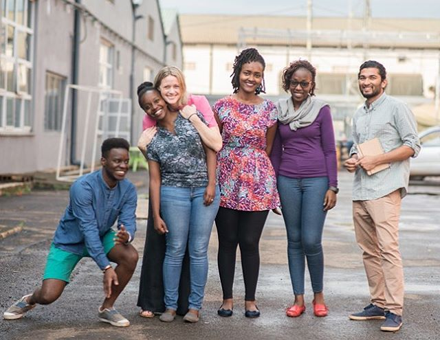 🌟The DwB dream team🌟@ra_ch_it @bakycelyn_ @faithie_fay @kristinajervell @iam_djin and anti social media Abigail, missing our two superheroes for the photo @thomasbef and @lawrenceokoth #dreamsquad #dwb #team #design #kampala #designhub #designers #uganda photocred by the talented @muyingosiraj