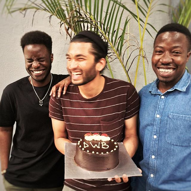 A big hello and warm welcome to our new cake monsters and fabulous designers; Joe and Rachit, and a welcome back to Lawrence! 🎂#designers #uganda #welcome #cake #dwb #team #kampala #designhub