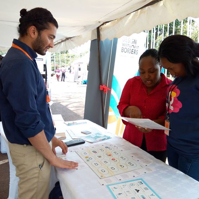 Today our DwB superteam are exhibiting at the Uganda National Family Planning Conference in Kampala. We are here with our recently developed game-based Family Planning assessment tool that helps understand the needs, preferences and barriers when it comes to family planning and reproductive health in Uganda. #dwb #familyplanning #uganda #conference #design #gamification #tool #hcd